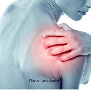 πόνος στον ώμο βελονισμός